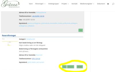 Hur du skapar ett användarkonto och registrerar dina uppgifter.